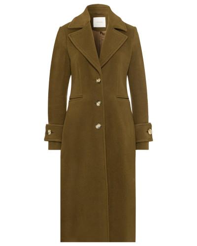 Mantel 'Wide Lapel Coat' oliv