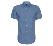 Hemd blau / weiß