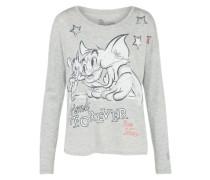 Langarmshirt 'Tom&Jerry t-shirt forever' grau