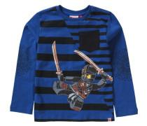 Langarmshirt Ninjago TEO für Jungen blau / schwarz