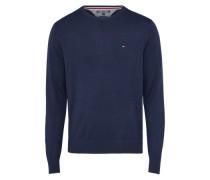 Pullover 'pima Ctn' dunkelblau