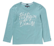 Langarmshirt für Mädchen Organic Cotton hellblau