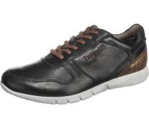 Sneaker braun / schwarz / weiß