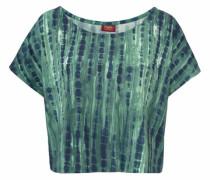 Strandshirt dunkelblau / smaragd / mint