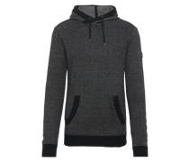 Pullover 'Praise' dunkelgrau / schwarz