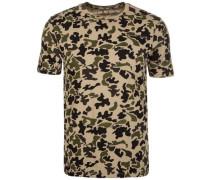 Camo Print C75 T-Shirt Herren beige / braun / khaki