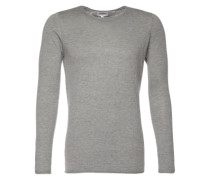 Pullover 'round neck cashmere' grau