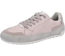Sneaker hellgrau / rosa