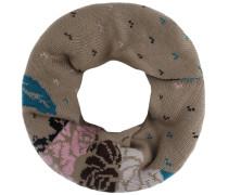 Loop dunkelbeige / himmelblau / rosa / schwarz / weiß