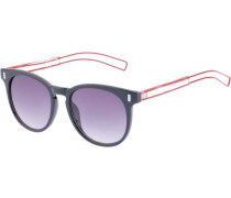 Sonnenbrille 'b3155/01' helllila / rot / schwarz