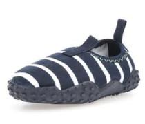 Strand-Schuhe marine / weiß