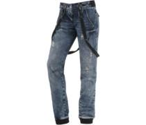 Bente Boyfriend Jeans blue denim