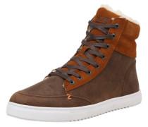 Sneaker high 'Millennium' braun