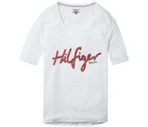 Bluse 'thdw CN T-Shirt S/S 51' weiß