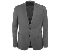Woll-Blazer 'Hopper Soft Comfort' graumeliert