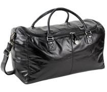 Weekend Reisetasche Leder 54 cm schwarz