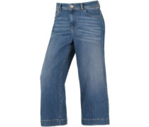 3/4-Jeans Damen blue denim