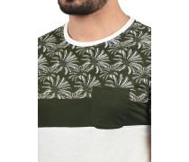 Rundhalsshirt 'Florian' braun