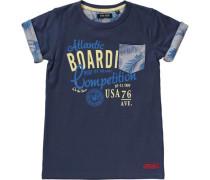 T-Shirt für Jungen blau / gelb
