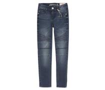 Hose Jeans Girls Skinny Slim Mädchen Kinder dunkelblau