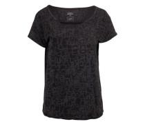 T-Shirt 'Downey' schwarz