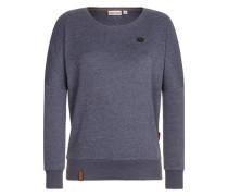 Female Sweatshirt '2 Stunden Sikis Sport Iii' violettblau