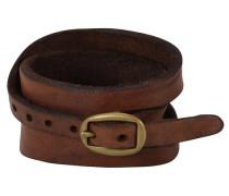 Santorini Armband Leder 43 cm braun