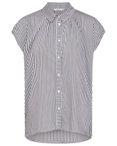 Bluse 'mandy' schwarz / weiß