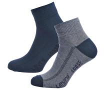 2 Paar Socken marine / rauchblau