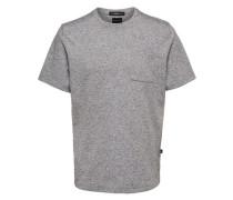 T-Shirt Sweat grau