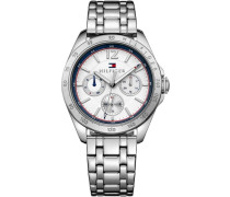 Multifunktionsuhr »Sophisticated Sport 1781664« silber