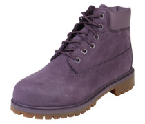 Schnürstiefel 'Premium Boot' lila