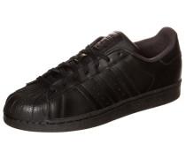 Superstar Foundation Sneaker schwarz