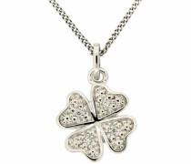 jewels Kettenanhänger »Kleeblatt« silber