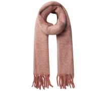 Langer Winter Schal rot