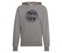 Sweatshirt mit Print 'Sounds' grau