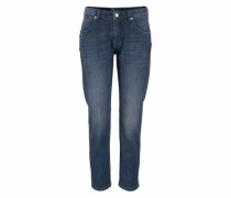 Stretch-Jeans 'Sexy Carrot' blue denim