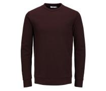 Vielseitiges Sweatshirt burgunder