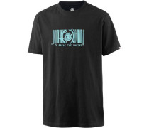 Code SS T-Shirt Herren schwarz
