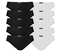 Slip schwarz / weiß