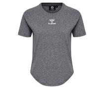 T-shirt S/S graumeliert