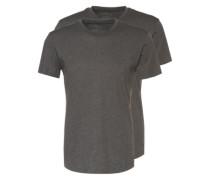 T-Shirt im Doppelpack grau