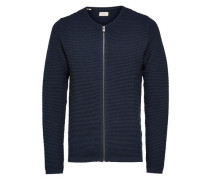 Strick-Cardigan navy