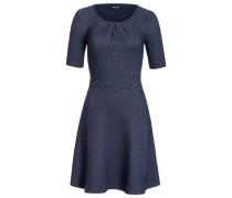 Jerseykleid blau dunkelblau
