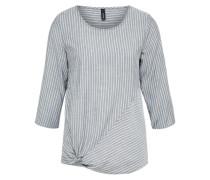 Leichtes Shirt 'Sabbie 1' nachtblau / weiß