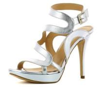 Damen Sandalette silber