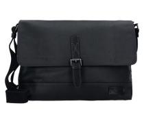 Messenger 'Bali' mit Laptopfach 38 cm schwarz
