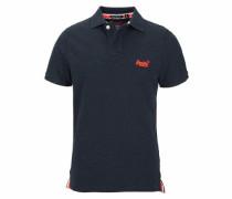 Poloshirt 'classic FIT Pique Polo' dunkelblau