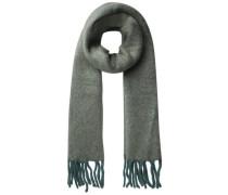 Langer Winter Schal grau