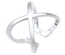 Ring 'Kreuz' silber